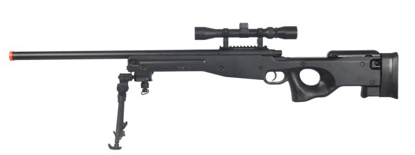 AGM Bolt Action Sniper Rifle Kit with Scope and Bipod