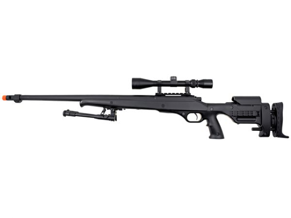 Well MB12 Heavy Weight Airsoft Sniper Rifle with Scope and Bipod