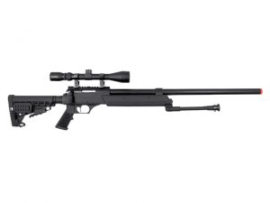 Well MB13 Heavy Weight Airsoft Sniper Rifle with Scope and Bipod
