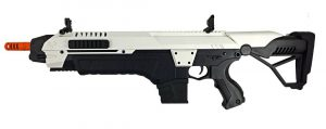 CSI STAR XR5 1508 AEG Airsoft Battle Rifle, White Black-main