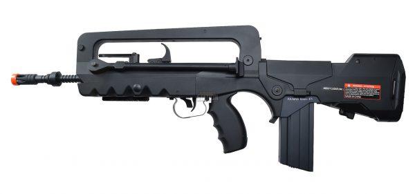 Cybergun FAMAS AEG Airsoft Rifle, Black-main