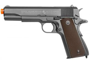 Full Metal Colt 1911 CO2 Blowback Airsoft Pistol by KWC-main
