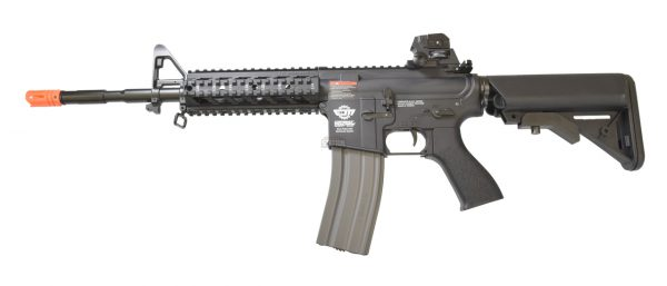 G&G Combat Machine CM16 Raider-L AEG Airsoft Rifle, Black
