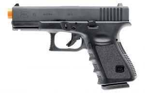 GLOCK Gen 3 G19 Gas Blowback Airsoft Pistol, Black-main