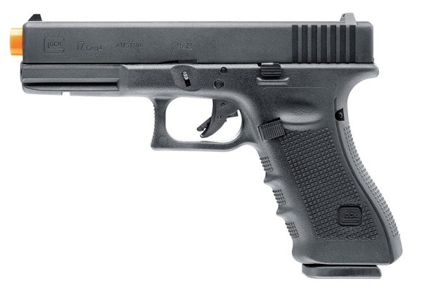 GLOCK Gen 4 G17 Gas Blowback Airsoft Pistol, Black-main