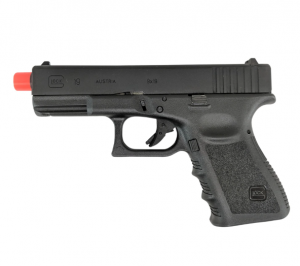Glock Gen 3 G19 Co2 Non-Blowback Airsoft Pistol, Black-main
