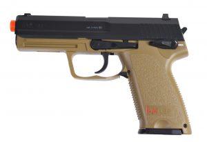 H&K USP CO2 Airsoft Pistol, BlackTan-main