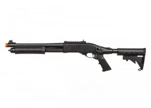 JAG Arms Scattergun TS Gas Powered LE Stock Shotgun, Black-main