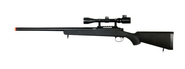 JG BAR-10 Bolt Action Airsoft Sniper Rifle with 3-9x40 Scope-main
