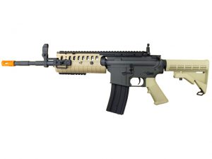 JG M4A1 S-System Tan & Black Two-Tone Airsoft Rifle AEG