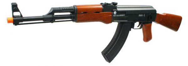 Kalashnikov AK47 Premium Full Metal & Real Wood Blowback Airsoft Rifle-main