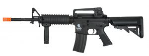 Lancer Tactical M4 SOPMOD AEG Airsoft Rifle, Gen 2, Black