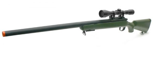 TSD SD700 OD Green Sniper Rifle with Scope