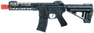 VFC Avalon VR16 Saber CQB M-LOK AEG Airsoft Rifle, Black