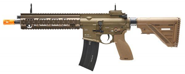 VFC H&K 416A5 AEG Airsoft Rifle wAvalon Gearbox, Tan-main