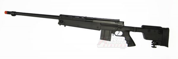 Well MB4407 PGM Full Sized Airsoft Sniper Rifle with Rails and Folding Stock-main