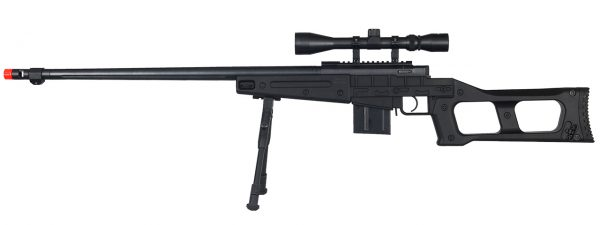 Well MB4409 Tactical Sniper Rifle wScope and Bipod-main