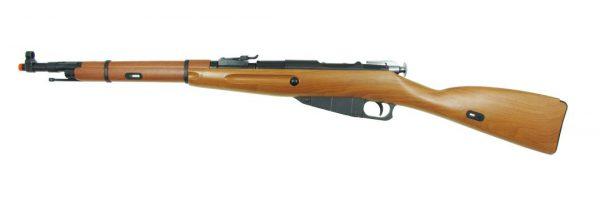WinGun Mosin-Nagant M44 CO2 Bolt Action Airsoft Rifle w Bayonet-main