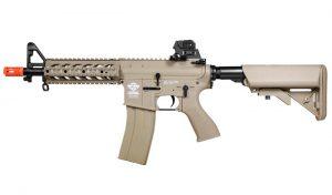 G&G CM16 Raider Short Tan Combat Machine Airsoft Rifle