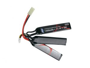 ASG 11.1v 1300mAh 20C Butterfly LiPO Airsoft Battery