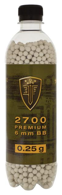 Elite Force Premium BBs, 0.25g, 2700 rounds