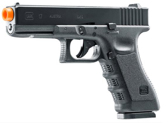 Glock G17 Gen 3 Co2 Blowback Airsoft Pistol w/ 2 Mags