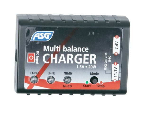 Multi Balance Smart Charger for NiMH, NiCd, LiPO, and LiIon Batteries