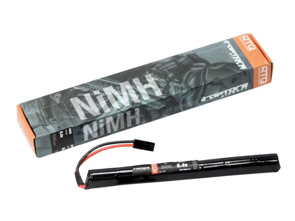 Raptors Airsoft RTQ AK NiMH 1600mah 8.4v Stick Battery