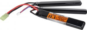 Valken Energy LiPo 11.1v 2000mAh 15C/25C Triple Stick Battery, Mini Tamiya