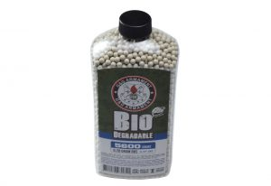 G&G Perfect BBs, 0.28g, 5600 ct. Bottle, White, Biodegradable
