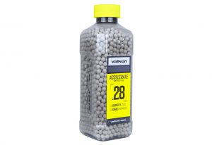 Valken Accelerate 0.28g BBs, 2500 CT., White