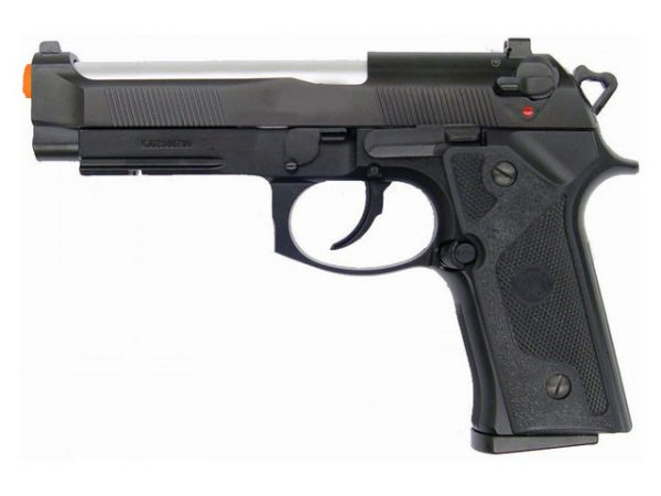 KJW Model-602 M9 Elite Gas/Co2 Blowback Full Metal Airsoft Pistol