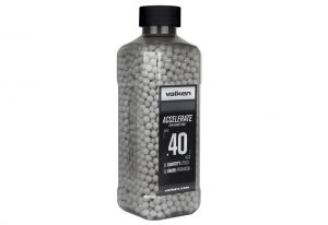 Valken Accelerate 0.40g BBs, 2500 CT., White