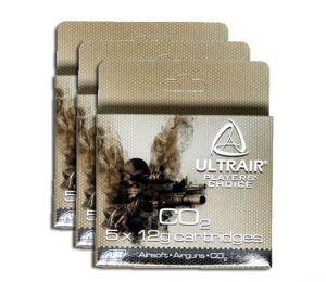 ULTAIR 12G CO2 CARTRIDGES, 15 PACK-main