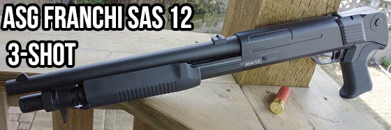 ASG Franchi SAS 12 3-Shot