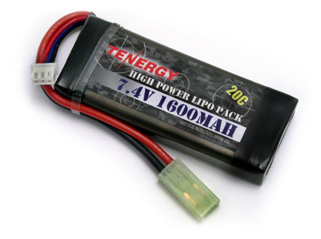 Li-Po Airsoft Battery