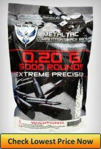 MetalTac 0.20g Airsoft BBs 5000