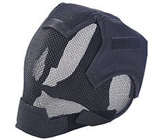 Coxeer Full Face Airsoft Mask Black