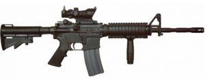 Airsoft M4 rifle